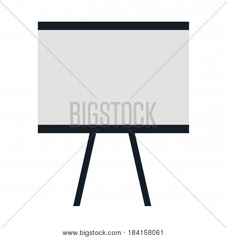 training paperboard isolated icon vector illustration design
