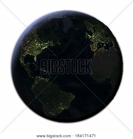 Northern Hemisphere From Space