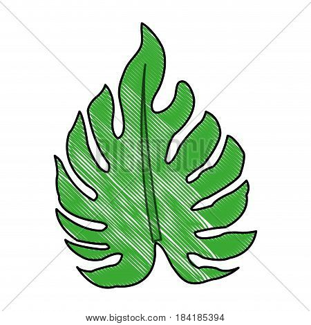 color blurred stripe image irregular green leaf vector illustration