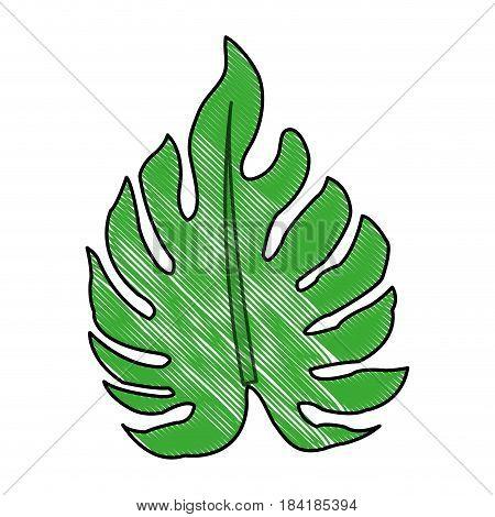 color blurred stripe image irregular green leaf vector illustration