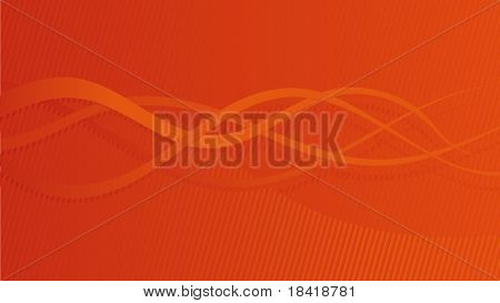 Vector abstract warm orange background #2