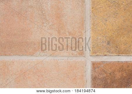 Floor Tile Close Up
