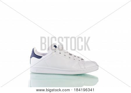 Shoes isolated on the white background with clipping path