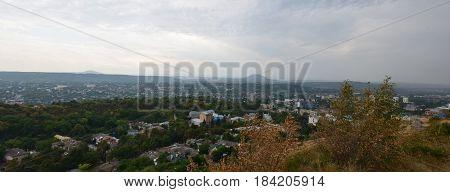 Attractions Caucasian popular resort city of Pyatigorsk
