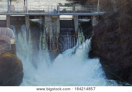 hydroelectricity  electric powerstation waterfall reservoir turbine electricity