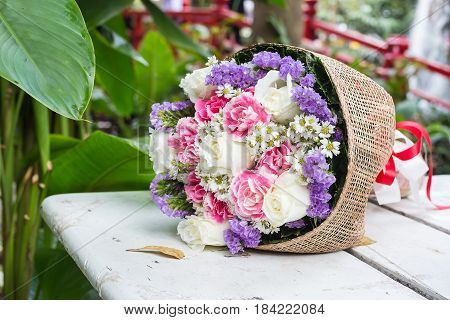 Bunch Of Flowers Gift