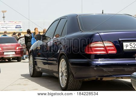 Large Number Of Spectators Came To Watch The Car Audio And Car Tuning Contest