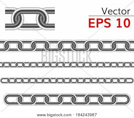 seamless chain vector range   vector circuit illustration detailed realistic chain
