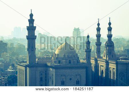 Cairo skyline as seen from the Citadel - Cairo, Egypt
