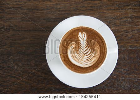 a cup of coffee cappuccino art latte art latte cappuccino