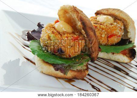 Crabcake Sandwiches