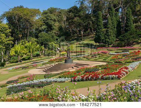 Mae Fah Luang Garden located on Doi Tung in Northern Thailand