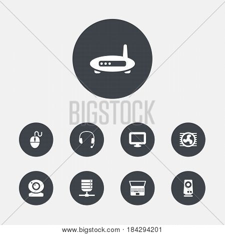 Set 9 Computer Icons Vector & Photo (Free Trial) | Bigstock