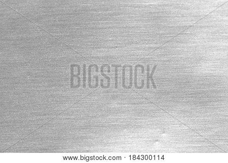 Shiny Silver White Grey Gray Paper Foil Decorative