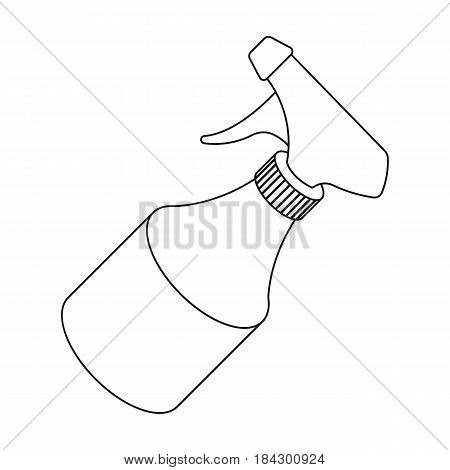 Spray.Barbershop single icon in outline style vector symbol stock illustration .