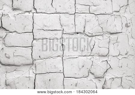 old black and white flaking paint wooden texture