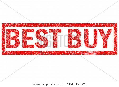 best buy stamp sign. best buy stamp on white background.