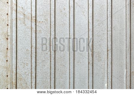 Shutter metal background