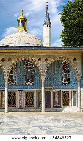 Baghdad Kiosk In Topkapi Palace, Istanbul