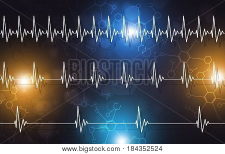 Medical Heartbeat Illustration