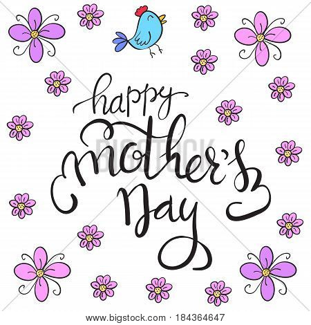 Happy mother day vector art collection stock