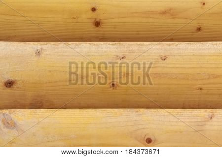 Texture of wooden planks as part of wall of house