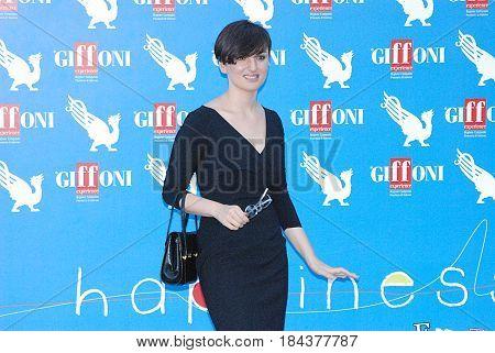 Giffoni Valle Piana Sa Italy - July 20 2012 : Arisa at Giffoni Film Festival 2012 - on July 20 2012 in Giffoni Valle Piana Italy