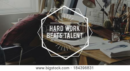 Hard Work Motivation Positivity Success Work