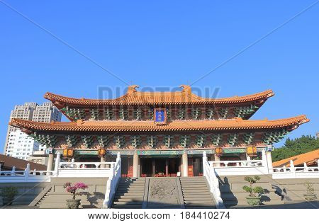 Historical architecture of Confucian temple in Taichung Taiwan