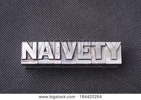 Naivety Word Bm