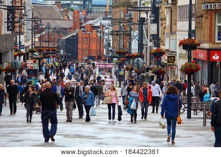 Leeds City Shopping