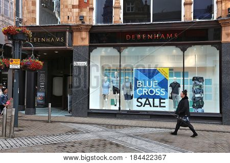 Debenhams Department Store