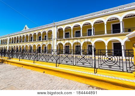 Library In Campeche, Mexico