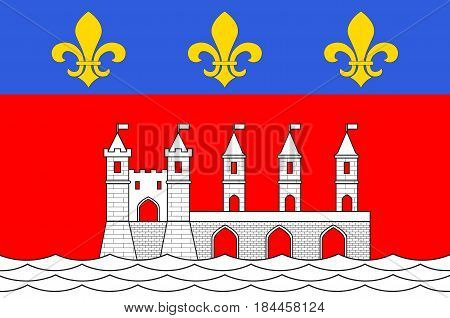 Flag of Saintes is a commune and historic town in southwestern France in the Charente-Maritime department of which it is a sub-prefecture in Nouvelle-Aquitaine