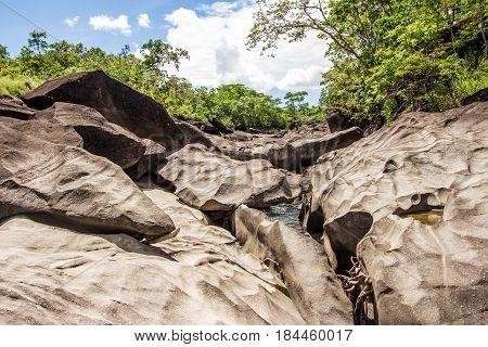 Vale Da Lua Waterfall, Chapada Dos Veadeiros