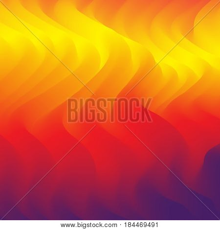 Abstract fiery background. Vector illustration for web design, desktop wallpaper or website.