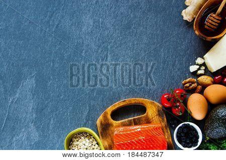 Selection Of Organic Food