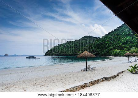 View of Nyaung oo Phee Island in Myanmar