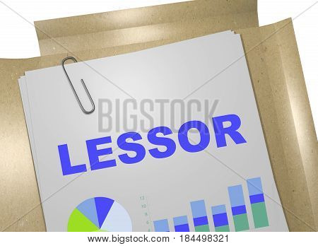Lessor - Business Concept
