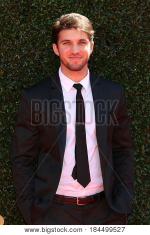 LOS ANGELES - APR 30:  Bryan Craig at the 44th Daytime Emmy Awards - Arrivals at the Pasadena Civic Auditorium on April 30, 2017 in Pasadena, CA