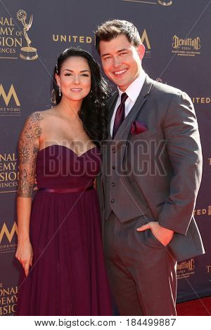 LOS ANGELES - APR 30:  Guest, Christopher Sean at the 44th Daytime Emmy Awards - Arrivals at the Pasadena Civic Auditorium on April 30, 2017 in Pasadena, CA