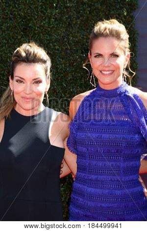 LOS ANGELES - APR 30:  Kit Hoover, Natalie Morales at the 44th Daytime Emmy Awards - Arrivals at the Pasadena Civic Auditorium on April 30, 2017 in Pasadena, CA