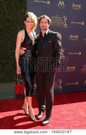 LOS ANGELES - APR 30:  Arianne Zucker, Shawn Christian at the 44th Daytime Emmy Awards - Arrivals at the Pasadena Civic Auditorium on April 30, 2017 in Pasadena, CA