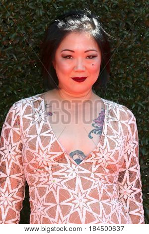 LOS ANGELES - APR 30:  Margaret Cho at the 44th Daytime Emmy Awards - Arrivals at the Pasadena Civic Auditorium on April 30, 2017 in Pasadena, CA