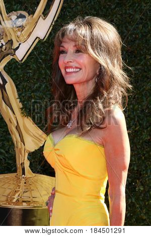 LOS ANGELES - APR 30:  Susan Lucci at the 44th Daytime Emmy Awards - Arrivals at the Pasadena Civic Auditorium on April 30, 2017 in Pasadena, CA