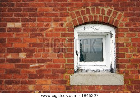Brick Wall & Window