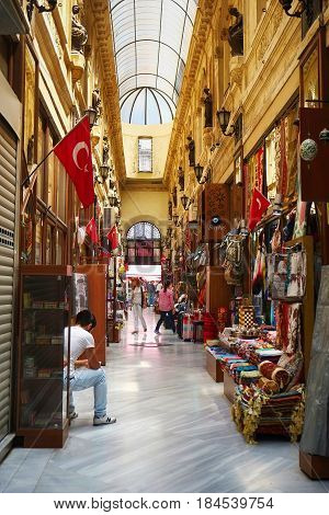 The Flower Passage On The Istiklal Street, Istanbul