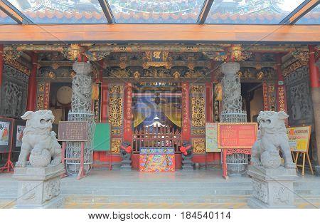 TAINAN TAIWAN - DECEMBER 11, 2016: Tian Tan temple. Tian Tan temple is one of the oldest temple in Tainan.