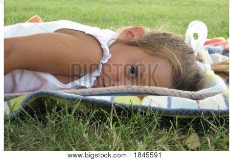 Sad Little Girl 2