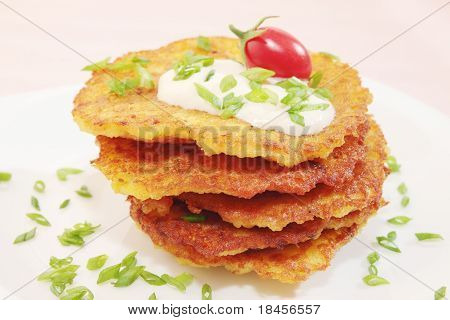 Pancakes From The Potatoes